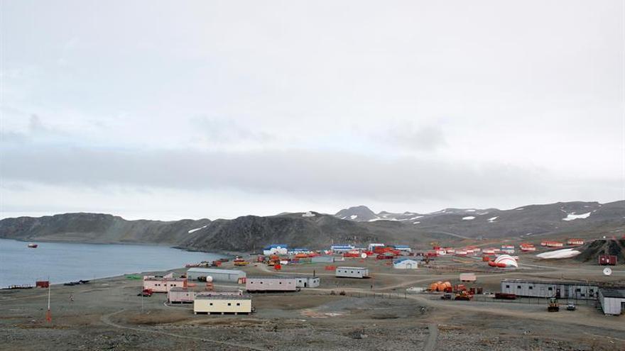 Villa Las Estrellas, un pueblo chileno en medio de la desolada Antártida