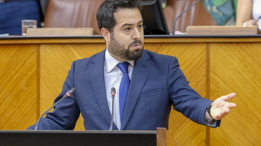 Francisco Carrillo, diputado y portavoz adjunto de Ciudadanos en el Parlamento andaluz.