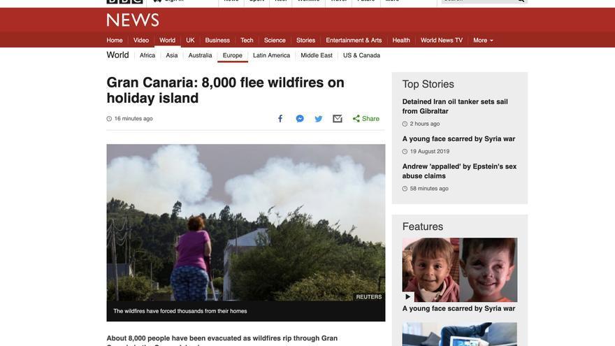 Información publicada en la web de la BBC.