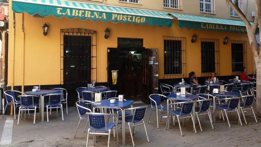 La Taberna Postigo en una imagen de archivo.