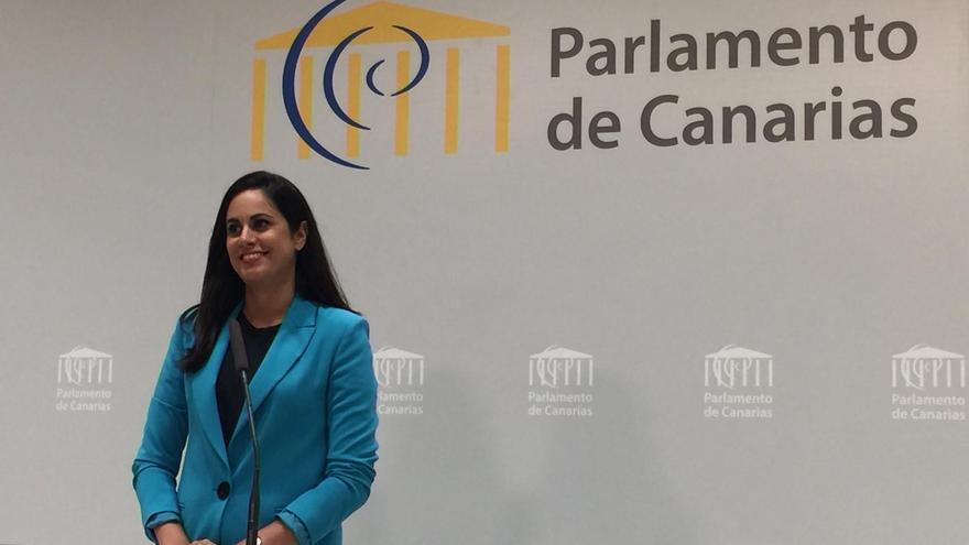 Vidina Espino, diputada de Ciudadanos en el Parlamento de Canarias.