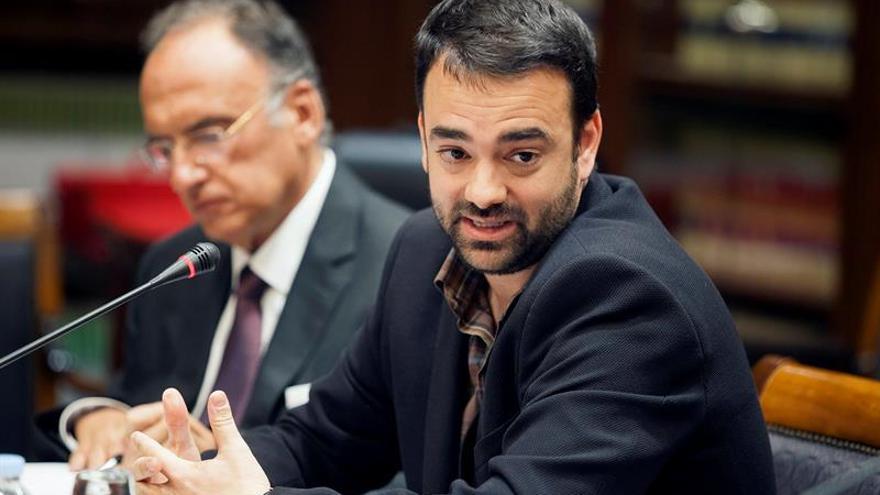 El consejero de Presidencia, Justicia e Igualdad del Gobierno de Canarias, Aarón Afonso