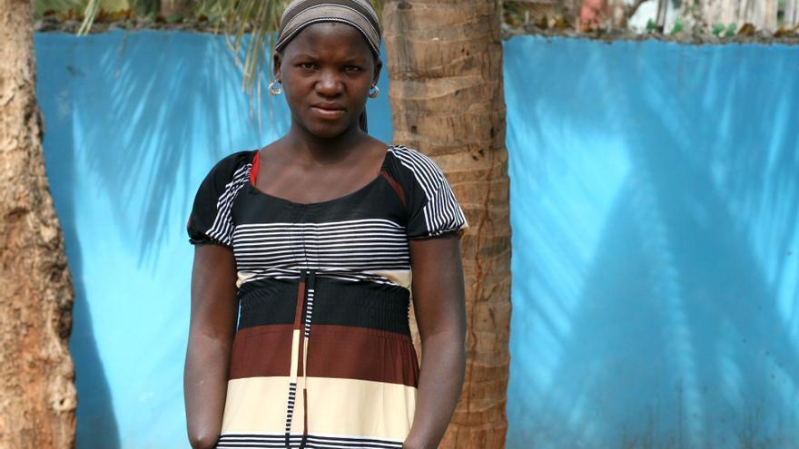 Una de cada dos mujeres sufre violencia de género en Mozambique. Gracinda Armando fue atacada por su marido. Foto: Celia Peñas/Ayuda en Acción