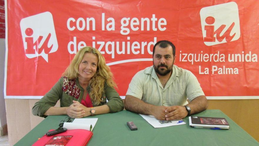 Isabel Saavedra y Jesús Besay Rodríguez, este miércoles en rueda de prensa.
