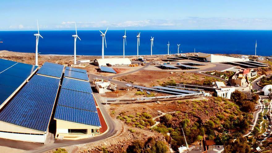 Instalaciones del ITER, empresa pública del Cabildo de Tenerife, en la zona costera de Granadilla