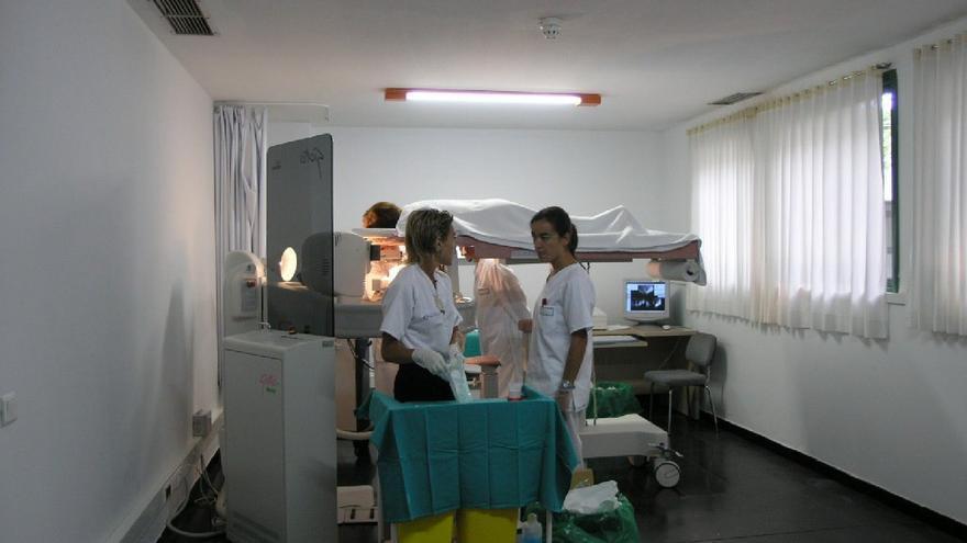 Enfermeras en el hospital de Lanzarote.