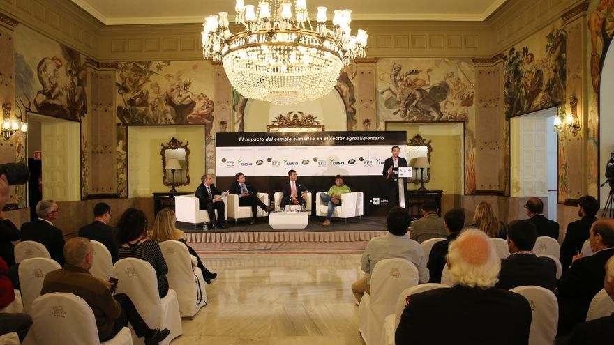 El foro EFEAgro celebrado en el Hotel Santa Catalina en la capital grancanaria.