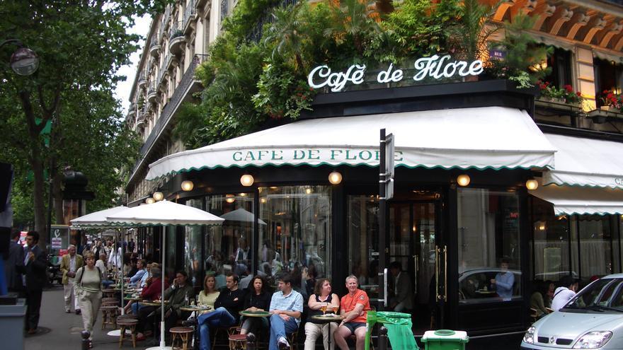 El Café de Flore.