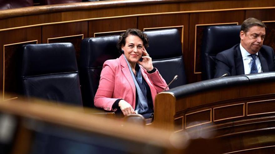 Valerio reitera compromiso de derogar lo más lesivo de reforma laboral del PP