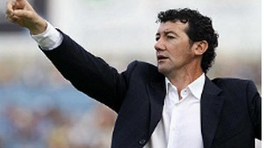 Juan Carlos Mandiá, técnico del Tenerife.