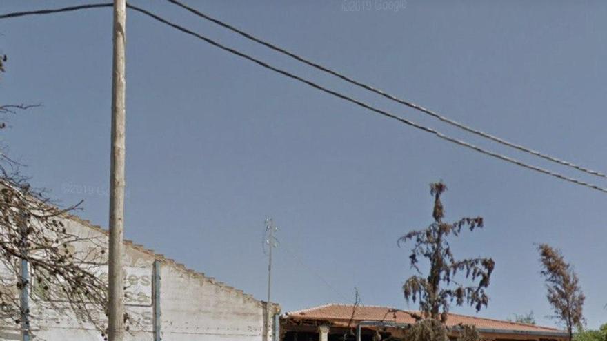 Asentamiento en la carretera hacia Las Peñas, en Albacete