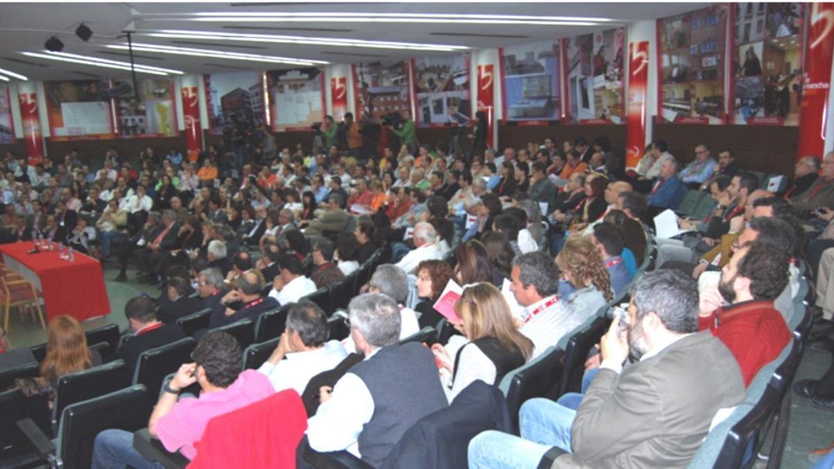 Foto de archivo de un congreso de UGT en Ciudad Real