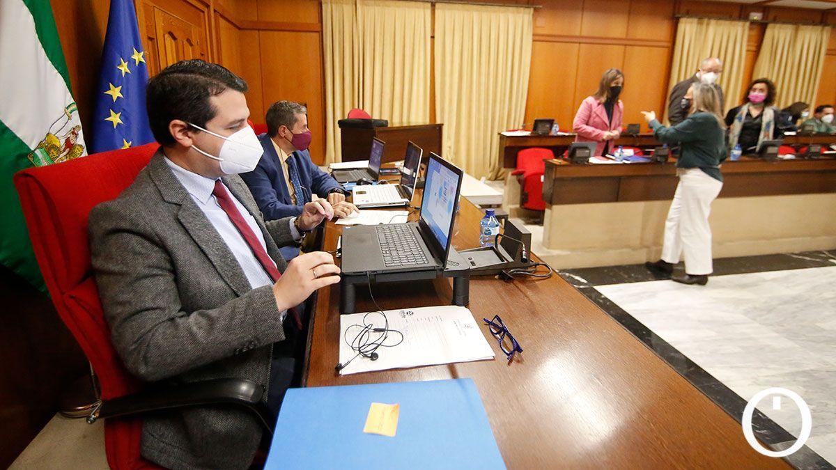 Pleno del Ayuntamiento de Córdoba este jueves.