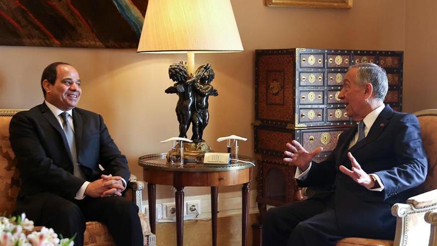 El presidente de Egipto inicia su primera visita de Estado a Portugal en 24 años