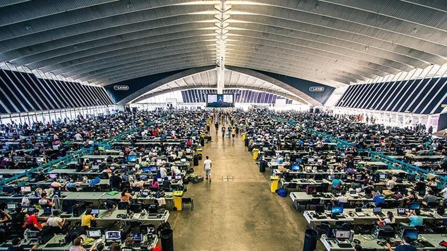 Más de 2.000 pantallas participan en la Tenerife Lan Party