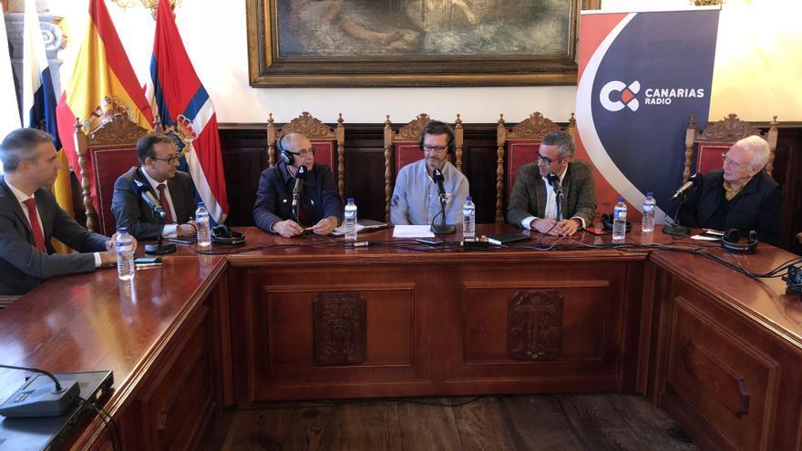 Celebración del segundo Foro de Cajasiete en el Ayuntamiento de la capital.