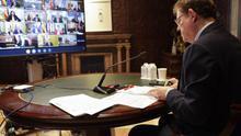 Ximo Puig reclama al presidente del Gobierno material médico y endurecer las medidas del confinamiento para luchar contra el coronavirus