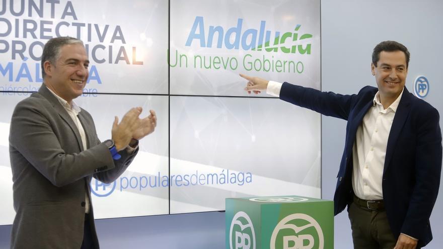 """Moreno no ve """"sensato"""" que Cs quiera liderar el cambio con cinco escaños menos y pide a Díaz que """"no inquiete"""""""
