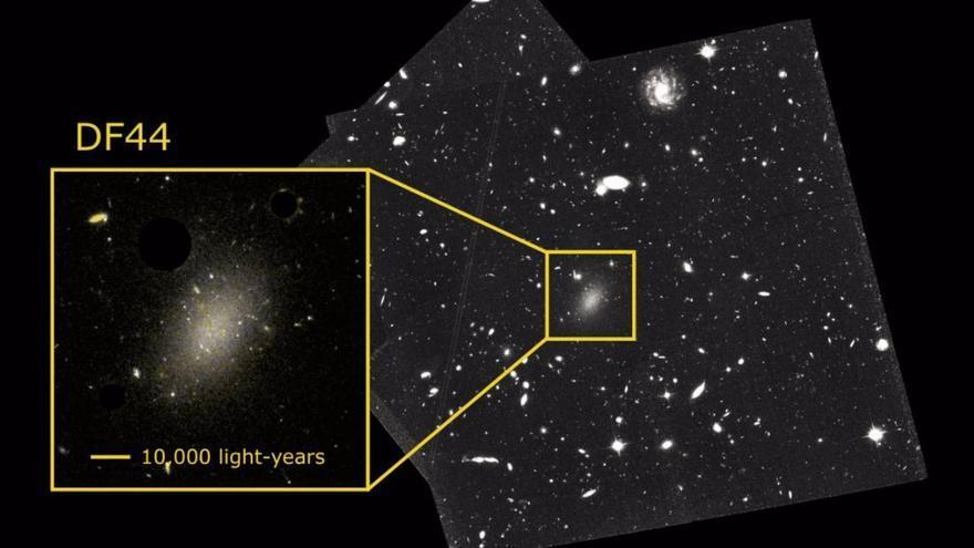 Resuelto el enigma de la extraña galaxia Dragonfly 44, compuesta en un 99,99% de materia oscura