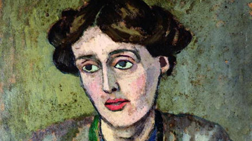 Virginia Woolf retratada por el pintor Roger Fry
