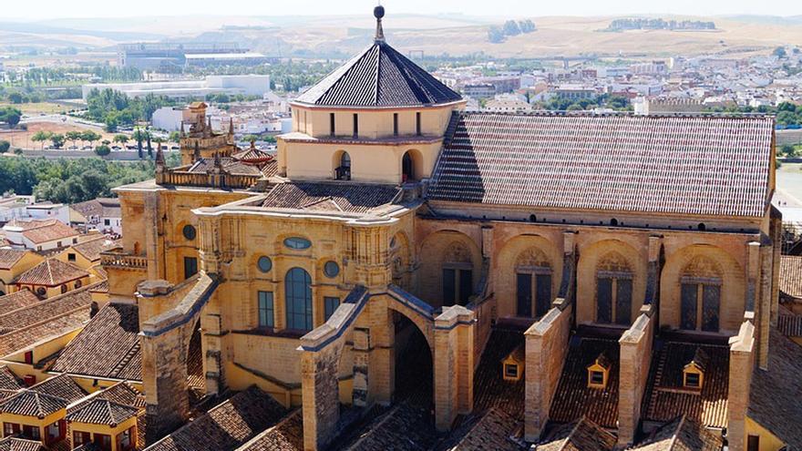 Vista aérea de la Mezquita Catedral.
