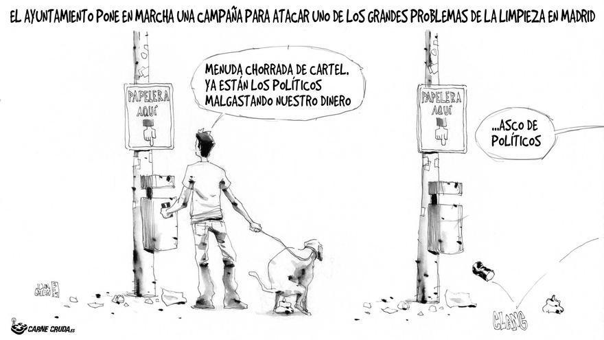 Campaña limpieza Madrid