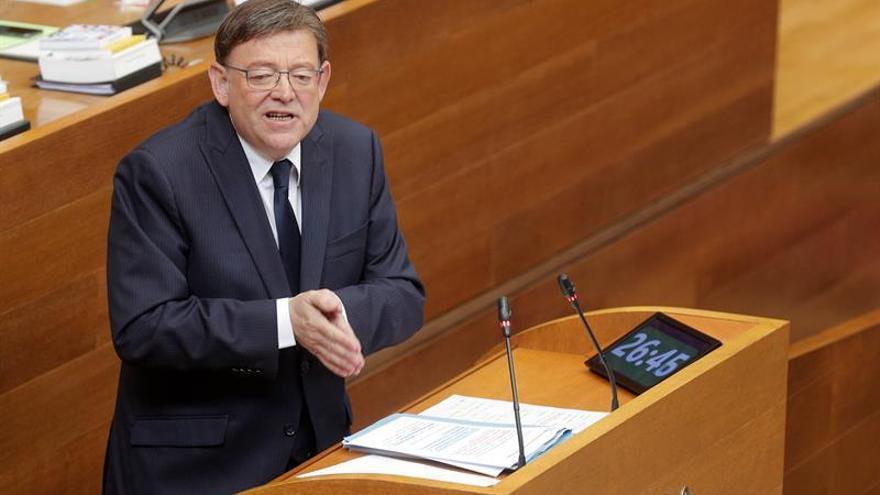 Ximo Puig: Adelantar elecciones sería un fracaso enorme de todos los partidos