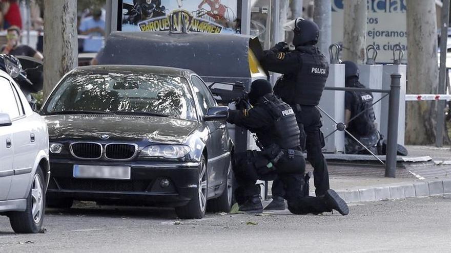 El inspector de Policía atrincherado en Alcobendas (Madrid) en un ...