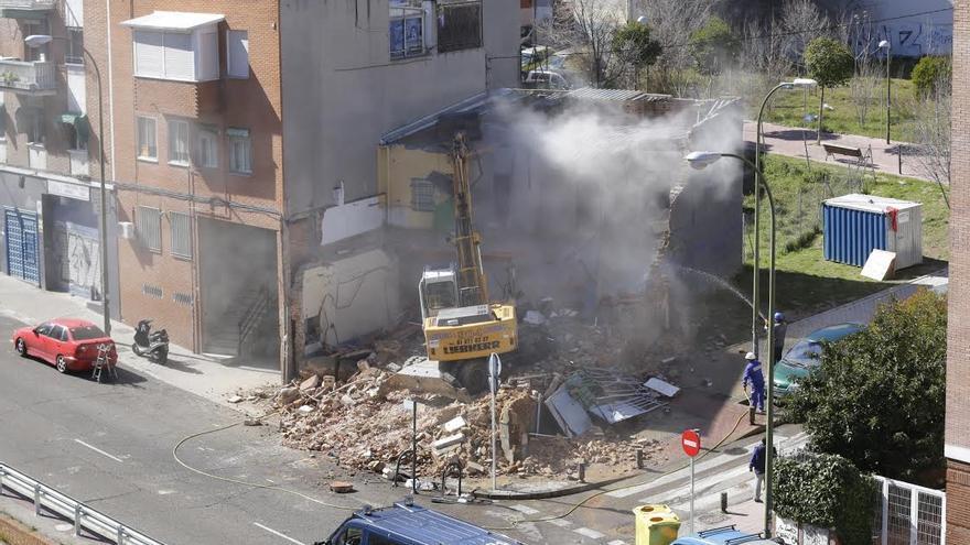 Imagen del derribo de Ofelia Nieto 29 / DISO Press - Eliezer Sánchez