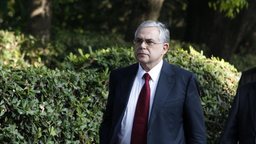 El ex primer ministro griego Lucas Papademos.