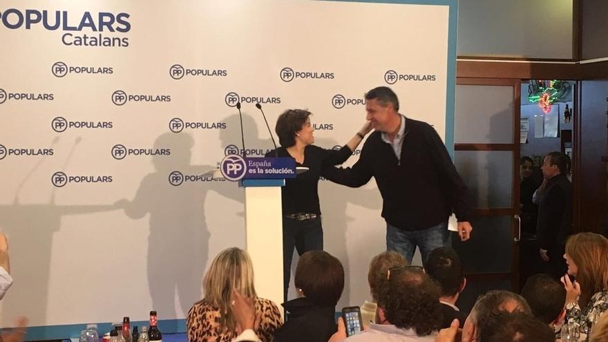 """Santamaría dice que Rajoy logró dejar a ERC y JuntsxCat sin líderes: """"Están descabezados"""""""