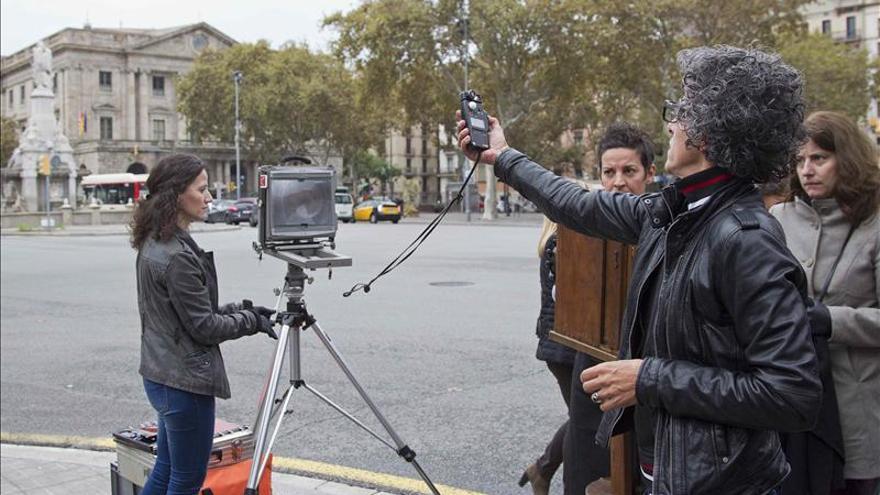 Daguerre vuelve a Barcelona para recordar la primera foto española de 1839
