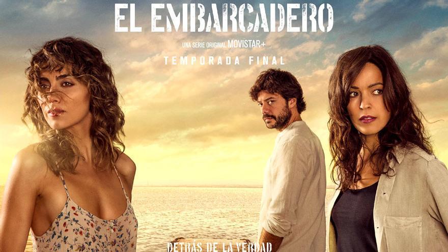 """'El embarcadero' lanza el póster de su temporada final: """"Detrás de la verdad"""""""
