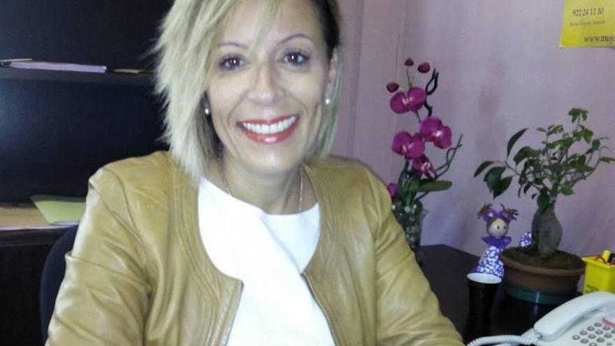 Ángeles Fernández, concejal de Servicios Sociales del Ayuntamiento de El Paso