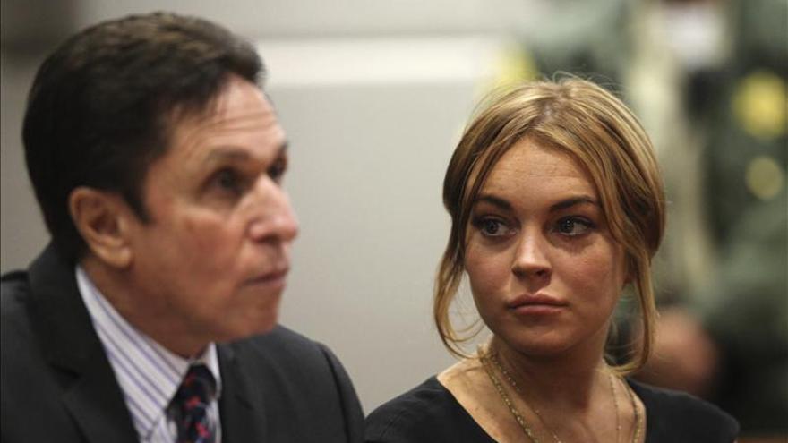 Lindsay Lohan viola la libertad condicional tras dejar el centro de rehabilitación
