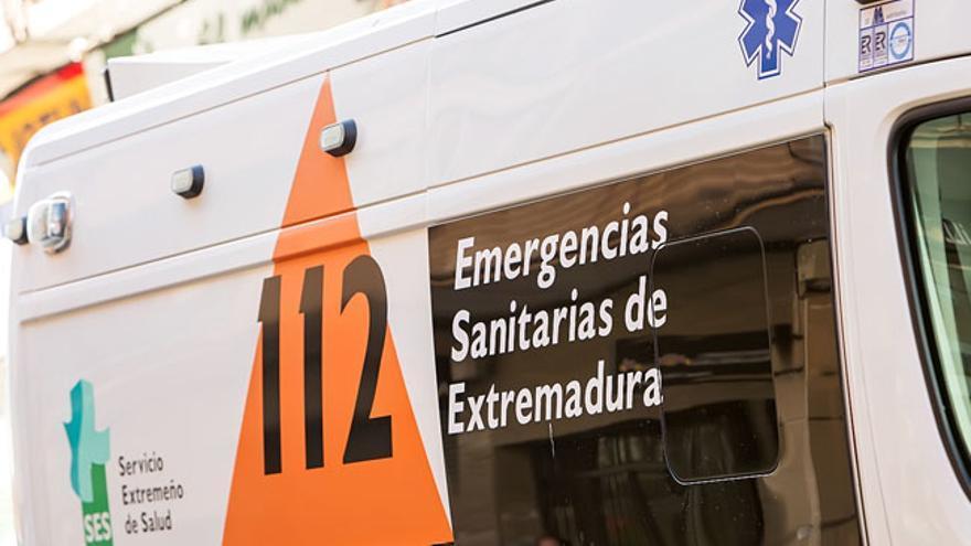 ambulancia consorcio extremeño transporte sanitario
