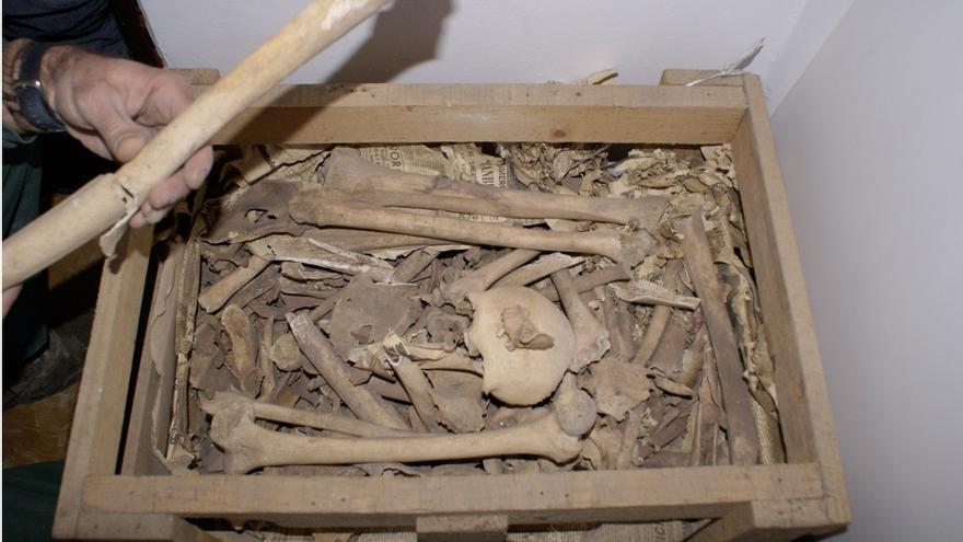 En la imagen, restos arqueológicos benahoaritas. Foto: JORGE PAIS.