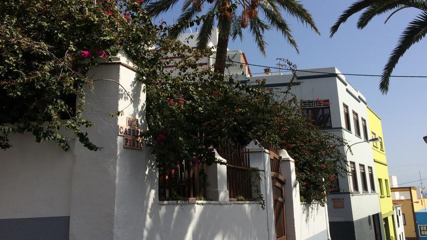 En la imagen, un tramo de la calle Adolfo Cabrera Pinto.