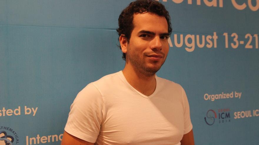 Artur Ávila, durante el congreso de Seúl. / A. T.