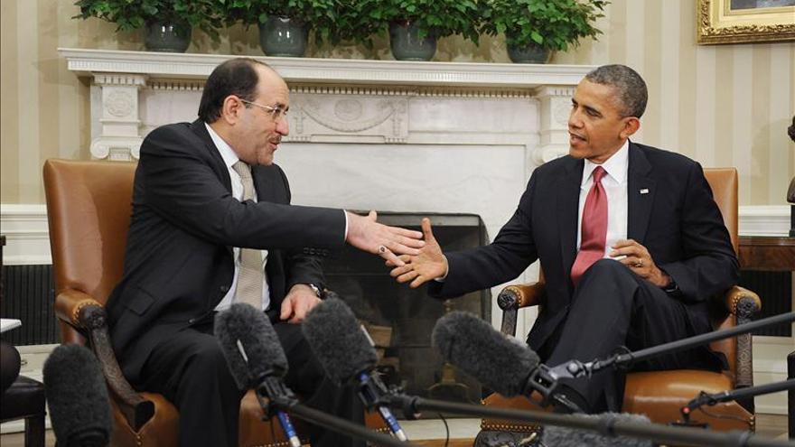 """Obama dice a Al Maliki que EE.UU. quiere ser un """"socio fuerte"""" contra Al Qaeda"""
