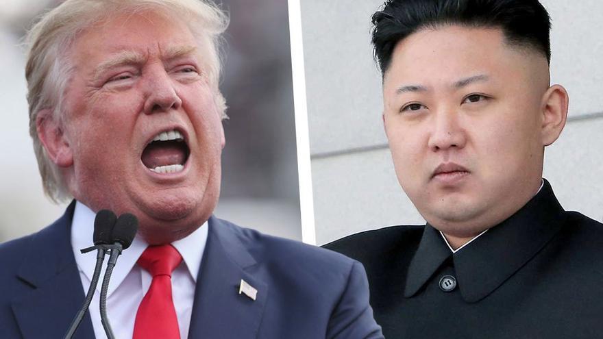 Donald Trump y Kim Jong-un (CA).