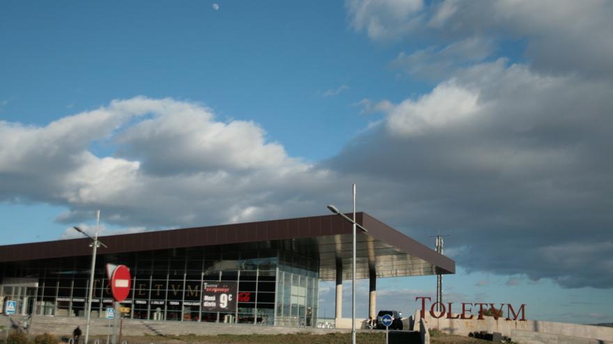 Vista del Centro de Recepción de Turistas en Toledo