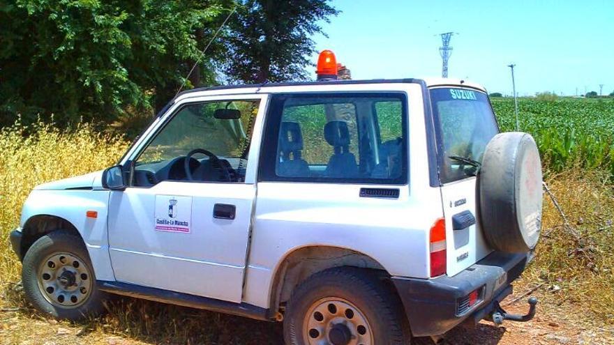 Vehículo de Agente Medioambiental. Foto por APAM-CLM.