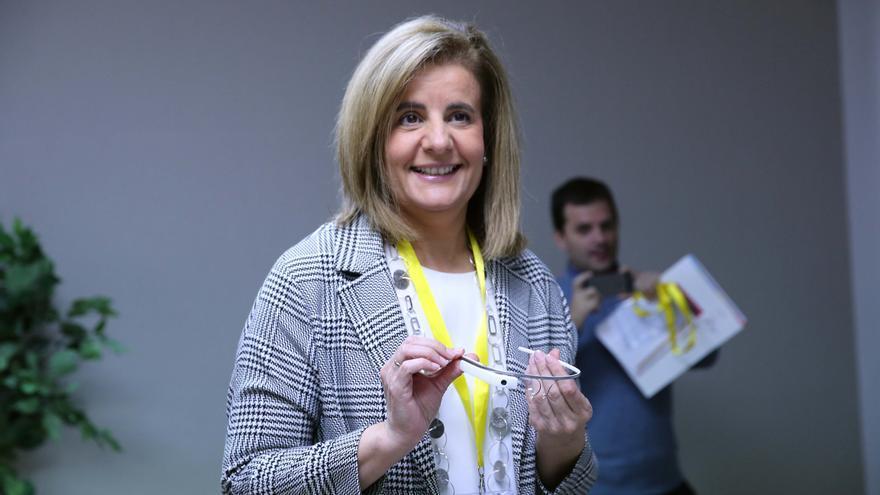 La ministra de Empleo, Fátima Báñez, en octubre de 2015. Foto: Ministerio de Empleo