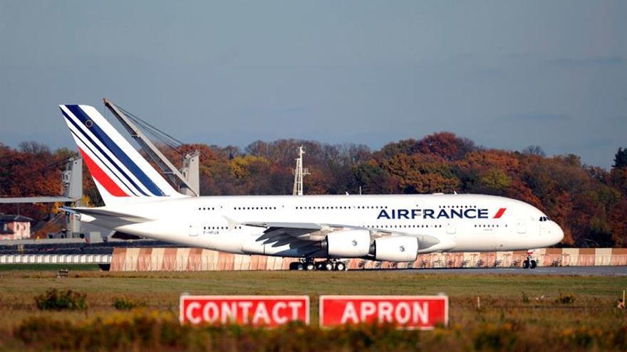 Air France-KLM incrementa un 19 % sus pérdidas en el primer trimestre