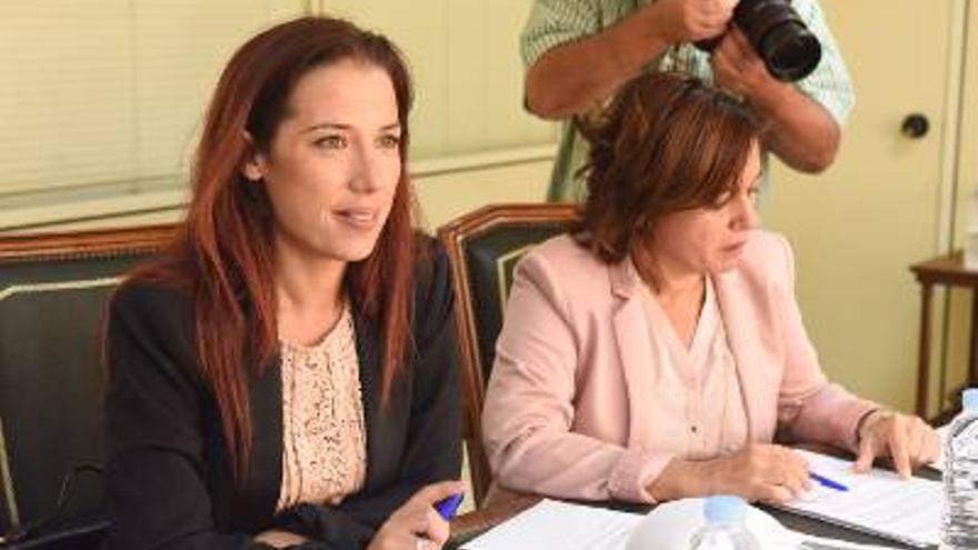 Patricia Hernández este jueves en la presentación del plan.