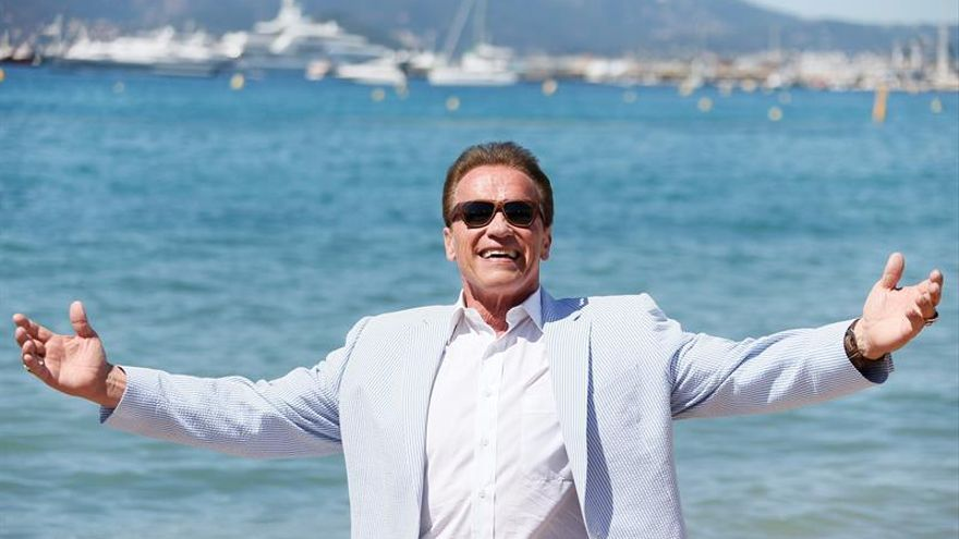 "Schwarzenegger lanza un alegato ecologista en Cannes con ""Wonders of the sea"""