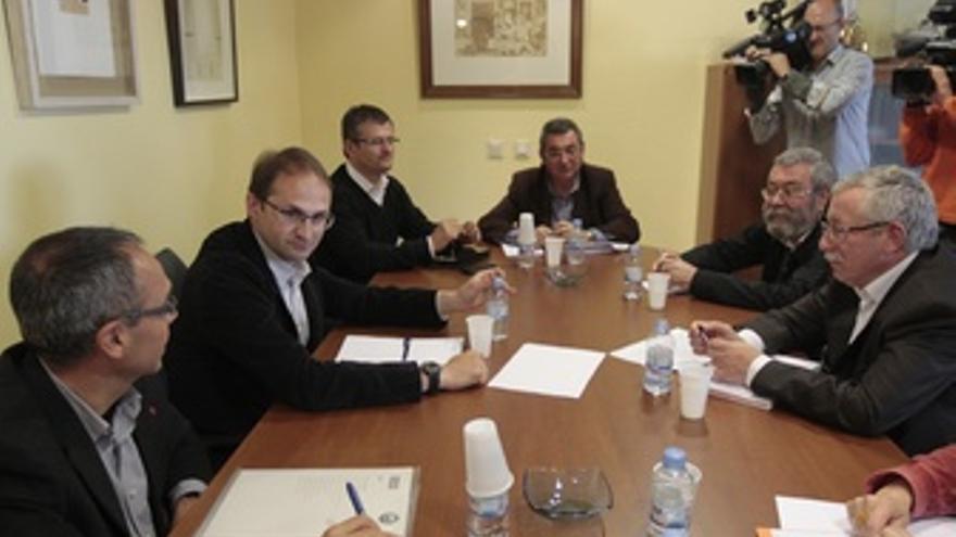 Toxo Y Méndez Se Reúnen Con ICV