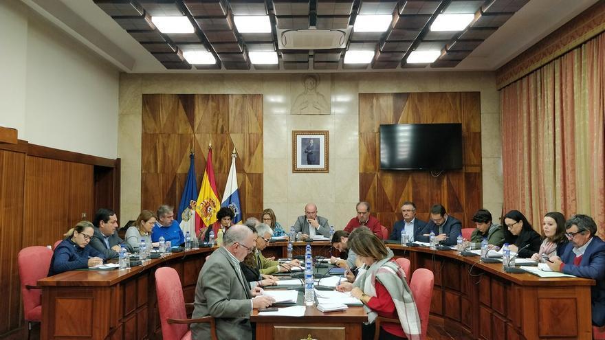 Pleno del Cabildo de La Palma de este lunes.
