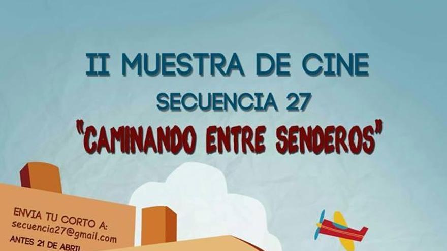 Cartel de la 'II Muestra de Cine Secuencia 27'.